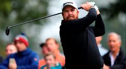 Ireland's Shane Lowry in action during the British Masters at Woburn Golf Club earlier this month