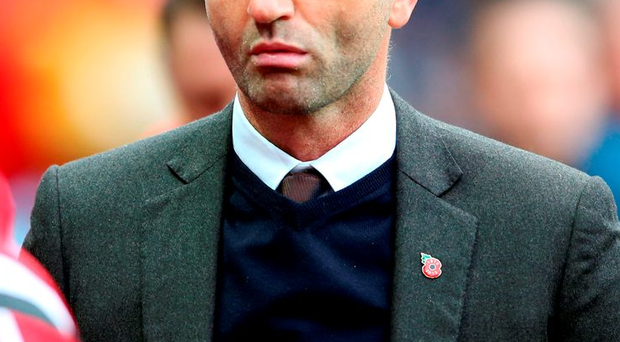 Tim Sherwood became the third Premier League manager to lose his job this season following Aston Villa's defeat to Swansea