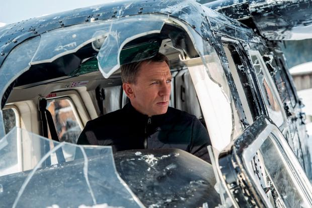 Daniel Craig as James Bond in 'Spectre'. Photos: MGM