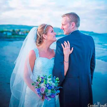 John and Lynette Rodgers, who drowned on their honeymoon. Photo: Caroline Smyth Photography