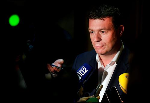 Abrasive style: Minister for Environment Alan Kelly
