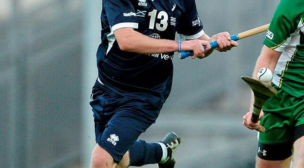 Scotland's Kevin Bartlett excelled from placed balls