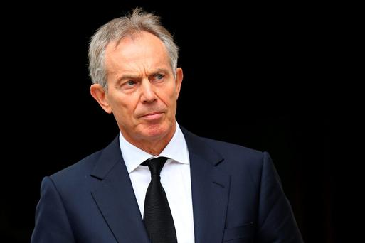 Former British PM Tony Blair