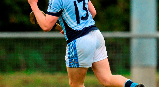 Na Piarsaigh's Peter Casey celebrates scoring his side's third goal