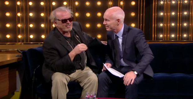 The Ray D'Arcy show featured a Jack Nicholson lookalike on Saturday