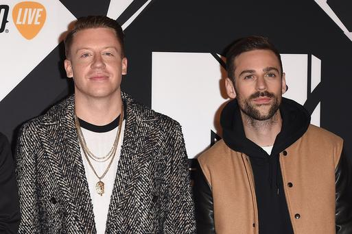 Macklemore & Ryan Lewis attend the MTV EMA's 2015