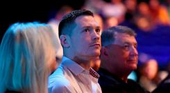 UFC fighter Joe Duffy in attendance at UFC Fight Night. 3Arena, Dublin. Picture credit: Stephen McCarthy / SPORTSFILE