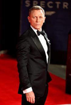 Daniel Craig attending the World Premiere of Spectre, held at the Royal Albert Hall in London. PRESS ASSOCIATION Photo. Picture date: Monday October 26, 2015. See PA Story: SHOWBIZ Bond. Photo credit should read: Matt Crossick/PA Wire