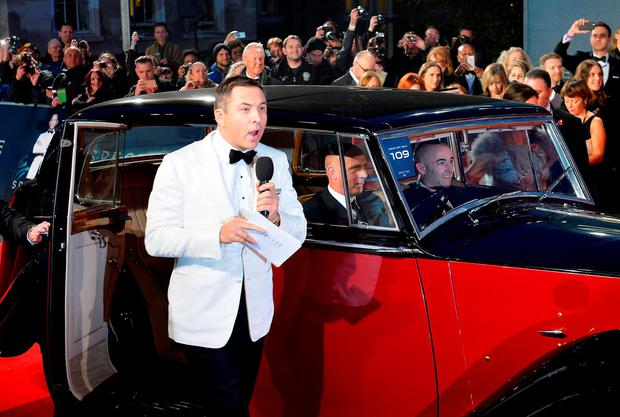 David Walliams during the World Premiere of Spectre, held at the Royal Albert Hall in London. PRESS ASSOCIATION Photo. Picture date: Monday October 26, 2015. See PA Story: SHOWBIZ Bond. Photo credit should read: Matt Crossick/PA Wire