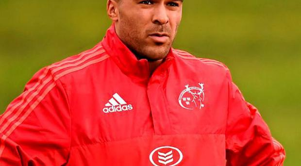 Foley says he will see how Munster's Simon Zebo performs through the week before selecting him for their clash with Ulster
