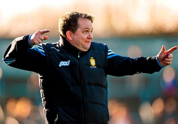 Davy Fitzgerald is bringing Donal Og Cusack as part of his back-room team SPORTSFILE