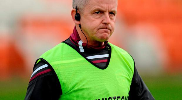Michael McShane, Slaughtneil manager: 'Had it been a football final, would it have gone to extra time? I don't think so'