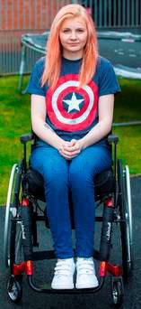 Anastassiya suffered a horrific car crash that left her paralysed