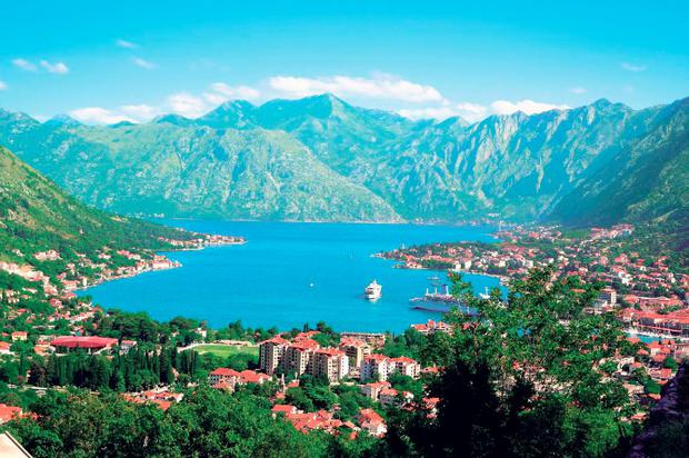 Safe harbour: Montenegro was one of the 'sail-ins' on the cruise itinerary. Each port was a voyage of discovery, with many passengers taking the opportunity to explore each stop-off.