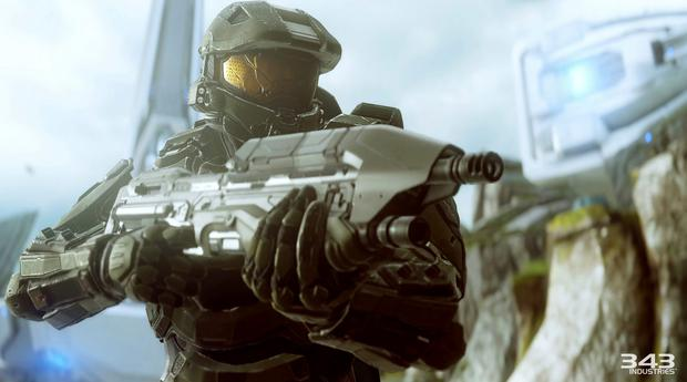 Halo 5 - Master Chief suddenly realises Spartan Locke is after his sponsorship deals