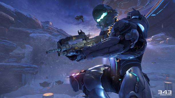 Halo 5 - Spartan Locke takes on the starring role