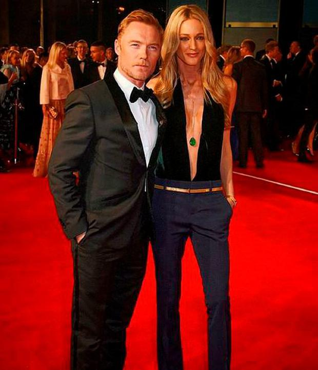 Ronan Keating and wife Storm Uechtritz