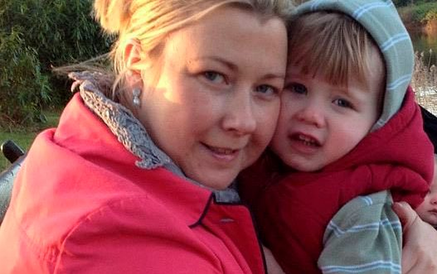 Gillian Treacy was returning home to Portarlington with her son Ciaran (4)