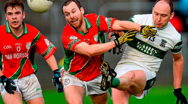 Portlaoise were this year's over-stretched ones, starting with a win over Emo in the Laois SF final replay on Saturday evening, followed by a Leinster clash with Palatine on Sunday, which they also won