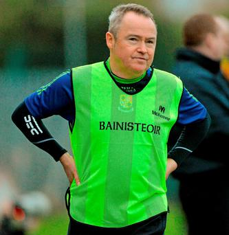 Nelson: targeting provincial progress for his Navan O'Mahonys team