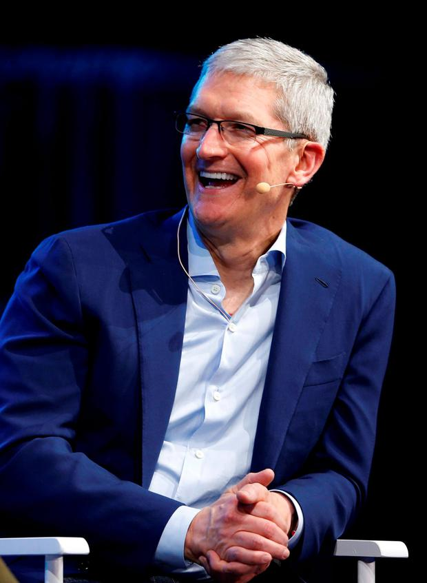 Apple CEO Tim Cook. Photo: Reuters