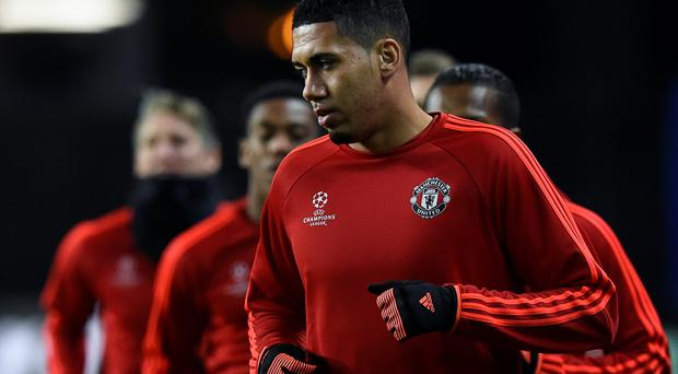 Chris Smalling has been the busiest United player so far this season as the only ever-present