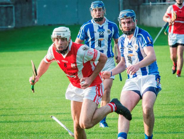 Cuala's Darragh O'Connell in action in their SHC 'A' semi-final victory over Ballyboden St Enda's