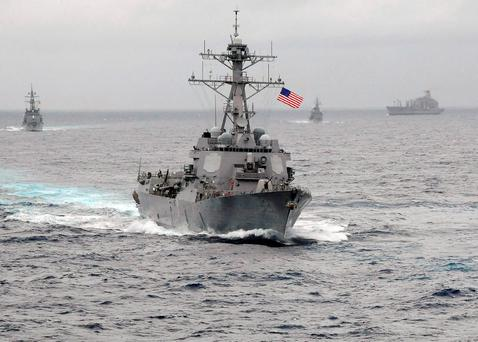 File image of the US Navy guided-missile destroyer USS Lassen in the Pacific. Photo: Reuters