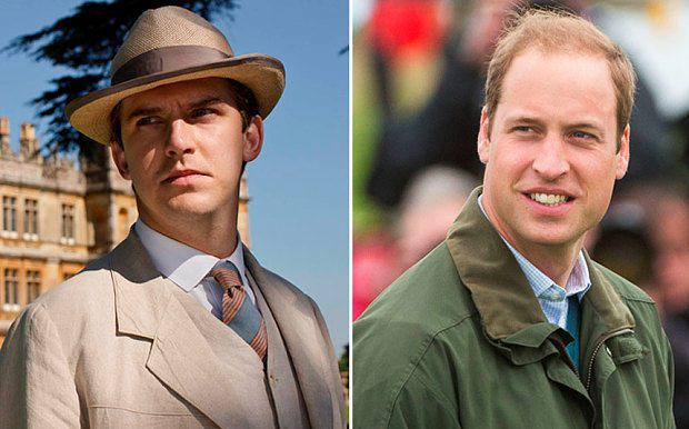 From left: Matthew Crawley from Downton Abbey- a traditional gentleman, The Duke of Cambridge, the modern gentleman Photo: ITV, Getty Images