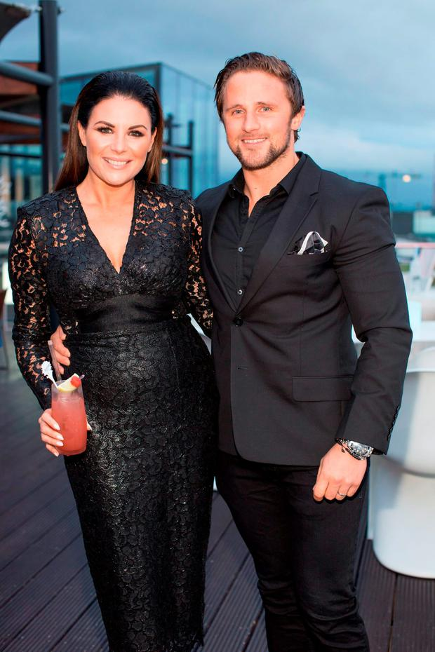 Lisa Cannon & Richard Keatley pictured at Belvedere Vodka Ireland's exclusive pre-party ahead of Ireland's first screening of the 24th Bond adventure, SPECTRE. Photo: Anthony Woods