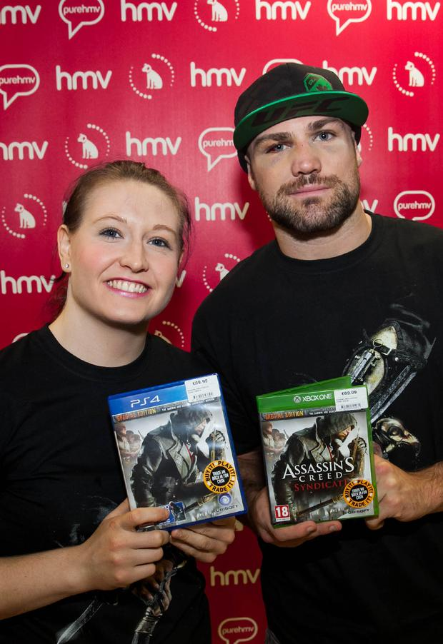 Cathal Pendred and Aisling Daly are Assassin's Creed Syndicate Ambassadors.