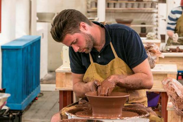 Bristol vet James on The Great Pottery Throw Down