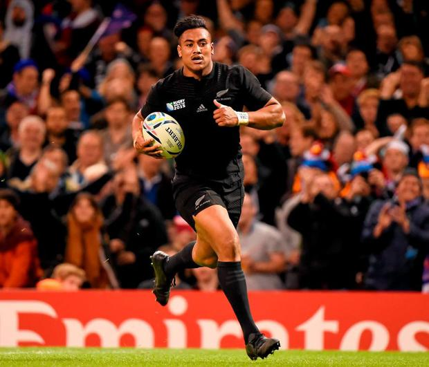 New Zealand's Julian Savea