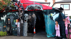 Ken's Halloween House of Horrors in Killiney, Co Dublin, has raised thousands for Epidermolysis Bullosa (EB) sufferers