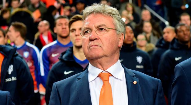 Guus Hiddink could manage Chelsea on a caretaker basis