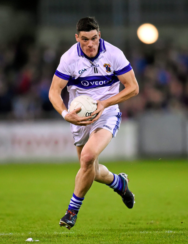 St Vincent's captain, Diarmuid Connolly, who are going for their third Dublin SFC title when they face Ballyboden St Enda's in Sunday's final