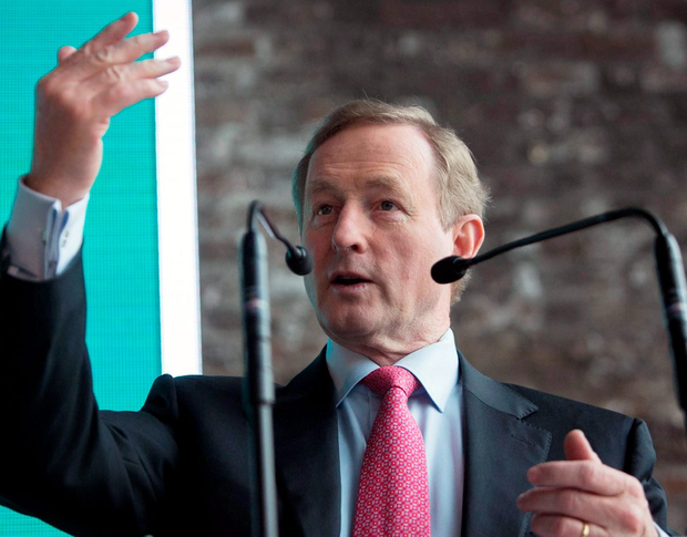Enda Kenny has backtracked on comments he made about the Defence Forces being made available to guard ATMs