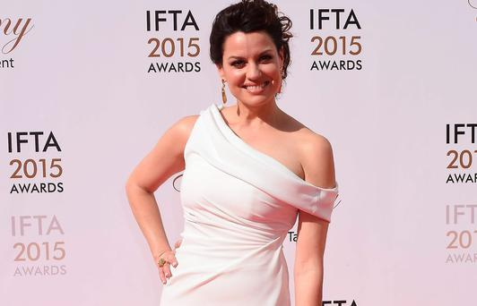 Caroline Morahan at the 2015 IFTAs