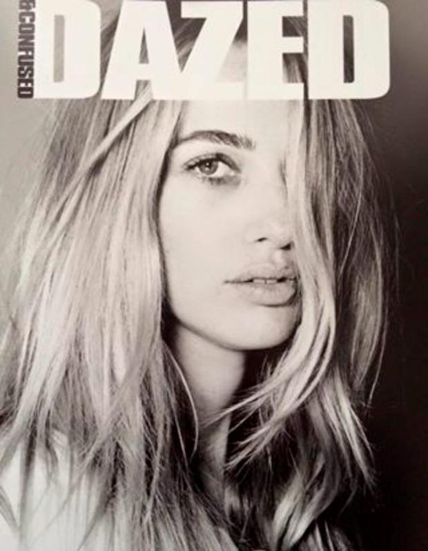 Jennifer Lil Buckley on the cover of Dazed magazine