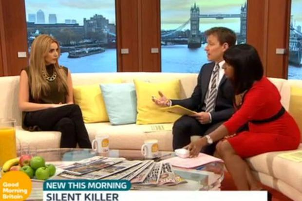 Nadine Coyle on Good Morning Britain