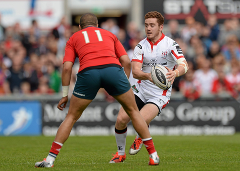 Paddy Jackson and Simon Zebo, have been named to start in the inter-provincial derby at Thomond Park tomorrow night