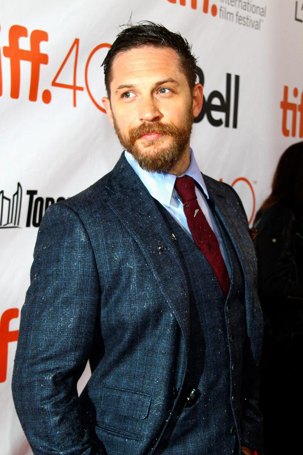 Actor Tom Hardy attends the