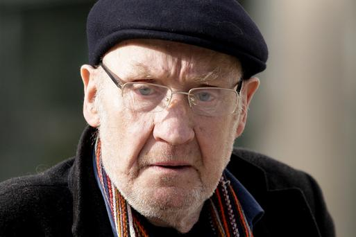 Albert Monahan (73) of Carnlough Road, Cabra, Dublin at court yesterday where was given a four-year suspended sentence for four sample counts of theft at Berkeley Road Post Office, Phibsborough, Dublin on dates between November 2007 and October 2014. Photo: Courtpix