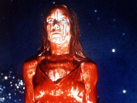 Carrie (1976) starring Sissey Spacek