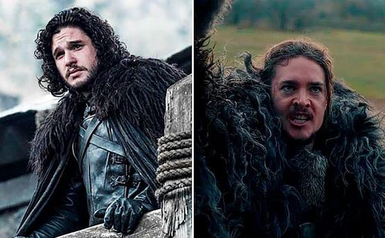 Game of Thrones (HBO) and The Last Kingdom (BBC/Carnival pictures)