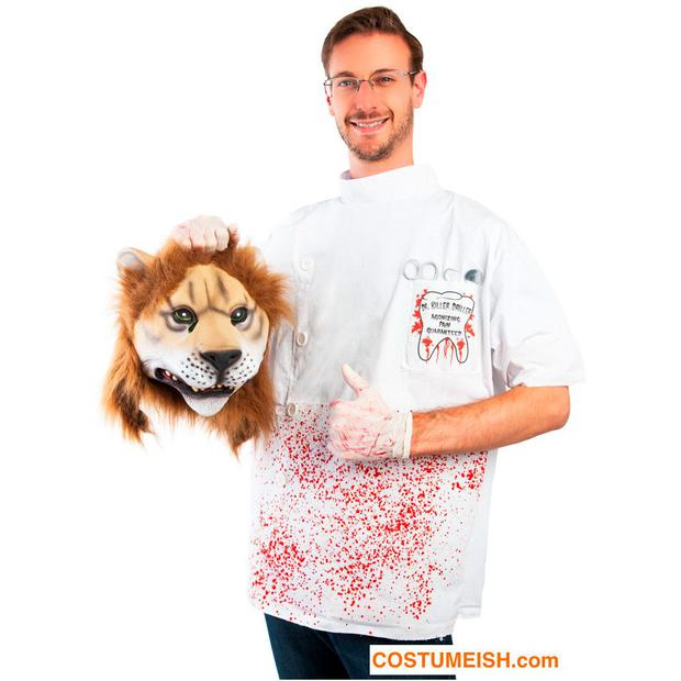 Lion killer dentist Halloween costume