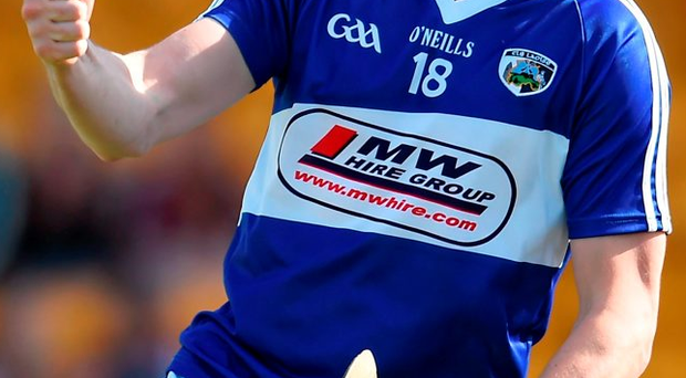 Laois star Stephen Maher is hoping Clough-Ballacolla can build on their county title against Oulart-The Ballagh