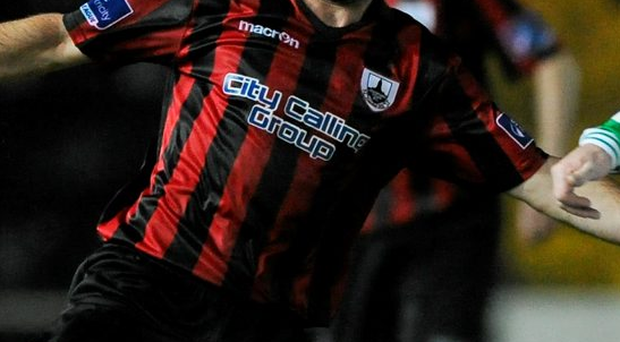 Longford Town's Kevin O'Connor