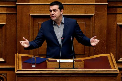 Greek Prime Minister Alexis Tsipras slammed the level of debate among European Union governments in dealing with the migrant crisis as 'sad' for a lack of cohesive action in dealing with the crisis