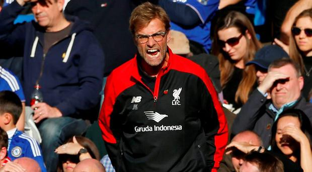 Liverpool manager Jurgen Klopp Action Images via Reuters / John Sibley